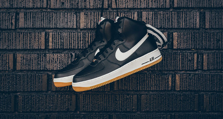 Available Now Nike Air Force 1 High Black Wolf Grey Nice Kicks