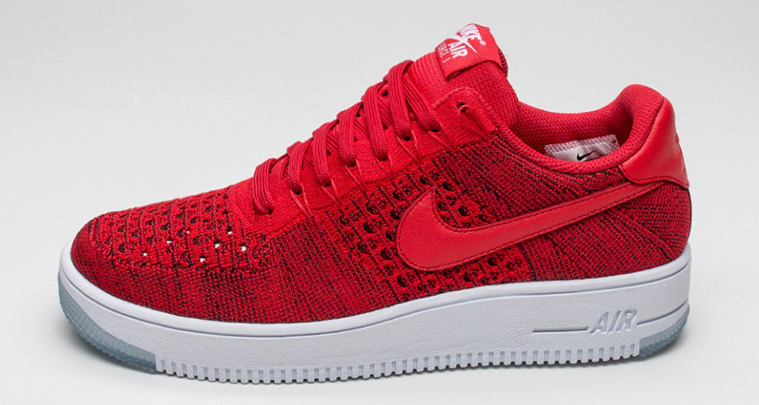 Nike Air Force 1 Low Ultra Flyknit University Red Drops Next Month new