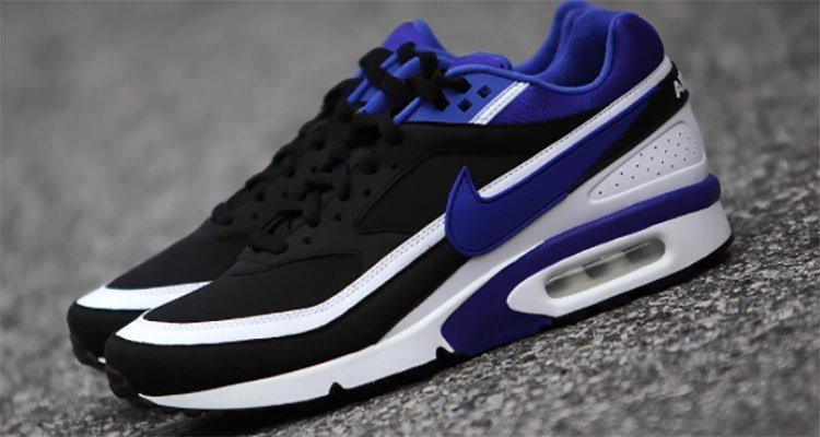 nike air max classic bw persian violet og strain