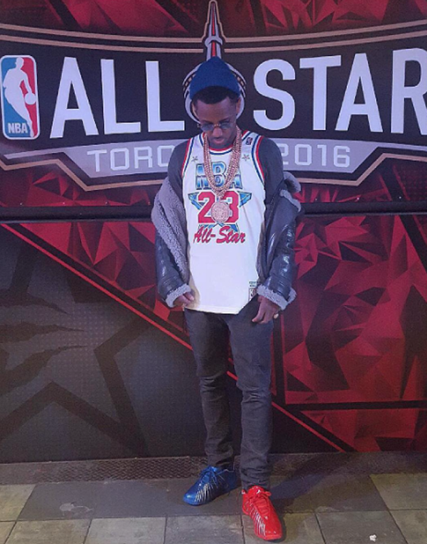 "Fabolous in the Packer Shoes x adidas TMAC 3 ""2004 All-Star Game"""