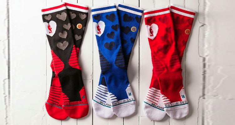 Just Don and Stance Collaborate on NBA All-Star Weekend Sock