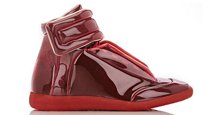"""Maison Margiela Transparent """"Future"""" Ankle-Strap Sneakers"""