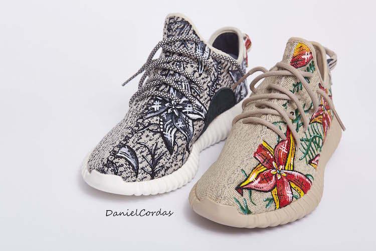 Daniel Cordas Yeezy custom