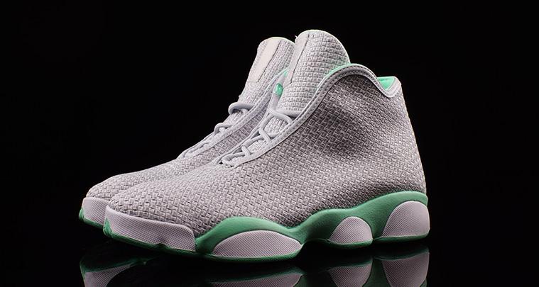Jordan Horizon Pure Platinum Green Glow