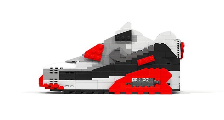 LEGO Nike Air Max 90 Infrared