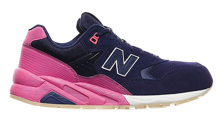New Balance 580 Navy Pink