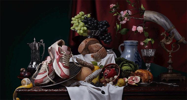 Nike Air Max Oil Paintings