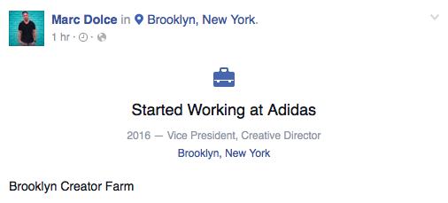 Marc Dolce Adidas
