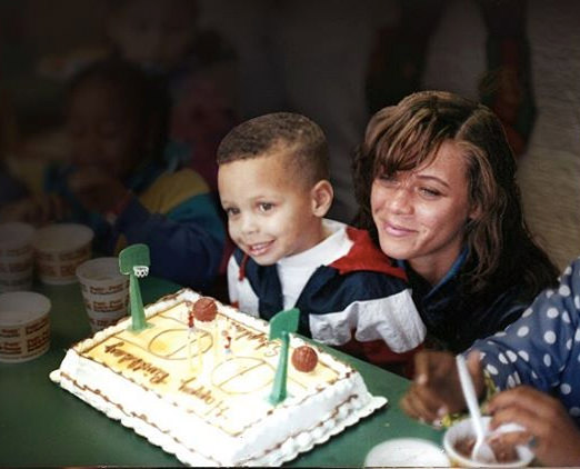 Stephen Curry Childhood Birthday