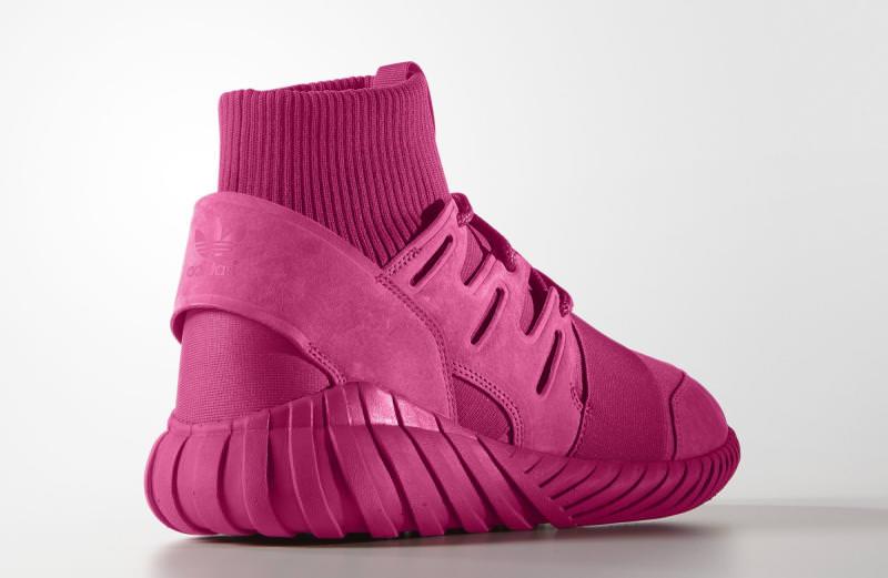 Adidas Tubular Pink Suede