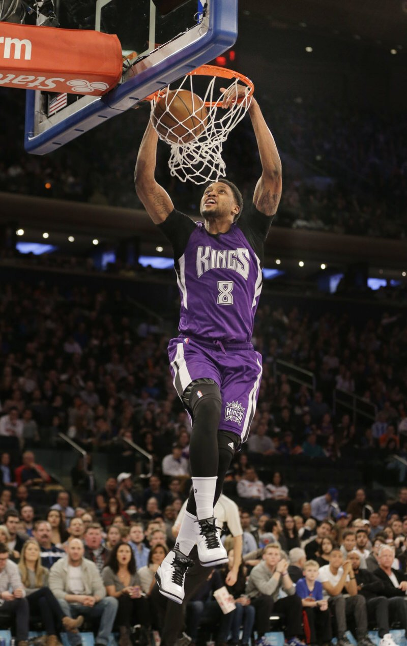 """Rudy Gay dunking in the Air Jordan 2 """"Wing It"""""""