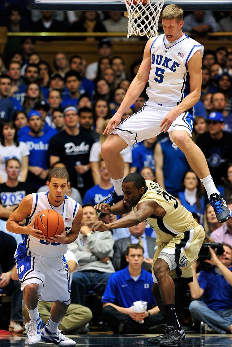 Mason Plumlee in the Nike Zoom Kobe VII