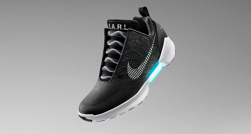Nike Introduces Adaptive Lacing on the HyperAdapt 1.0
