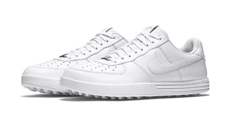 the nike air force 1 crosses over to golf nice kicks. Black Bedroom Furniture Sets. Home Design Ideas