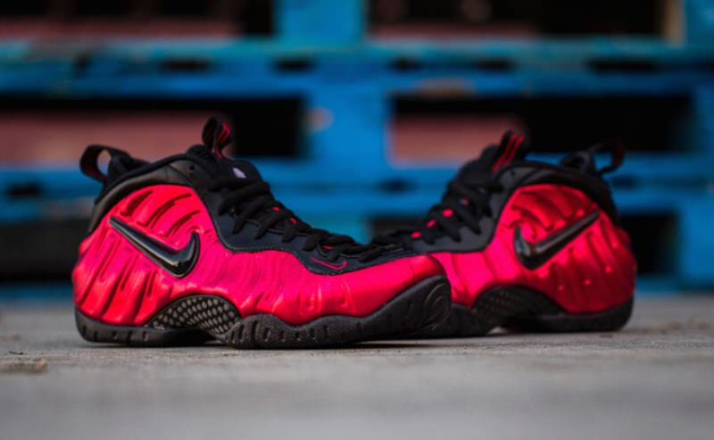 Nike Air Foamposite OnePearlized PinkNew Images Sole ...