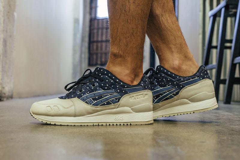 "ASICS Gel Lyte III ""Japanese Textile"" On-Foot Look"