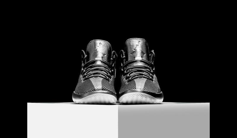 Nike Mens Jordan Reveal Wolf Grey//White Mesh