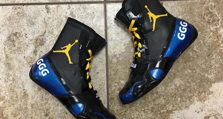 Jordan Boxing Boots Mache Customs