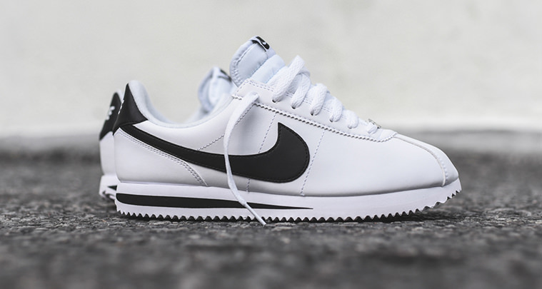 this nike cortez white black is perfect for summer nice. Black Bedroom Furniture Sets. Home Design Ideas