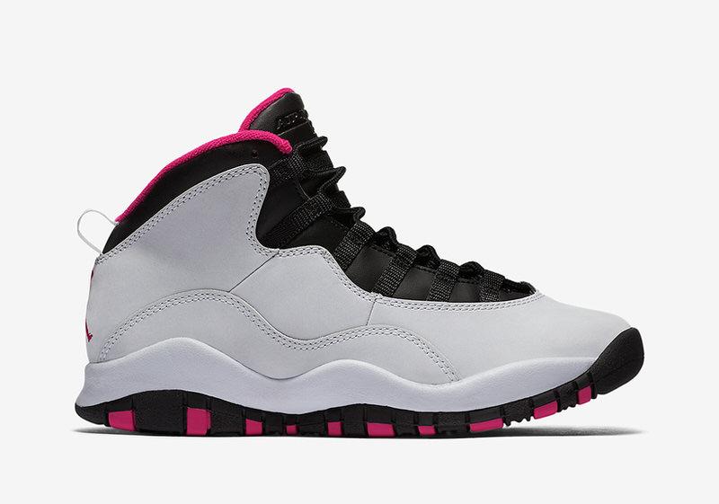 Air Jordan 10 GS Vivid Pink