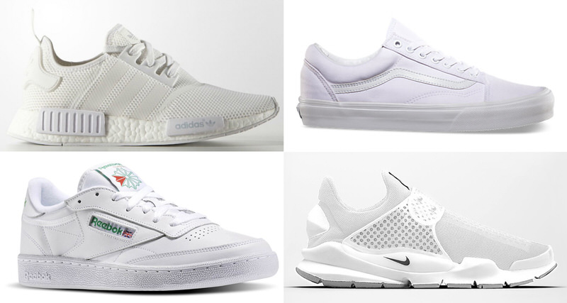 best all white shoes
