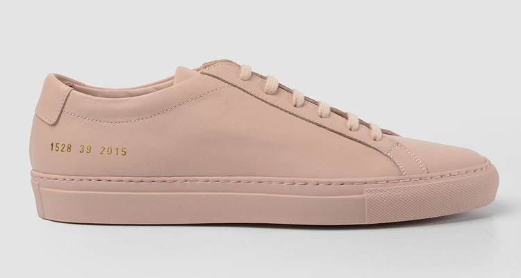 "Common Projects Achilles Low ""Pink"" // Available Now"