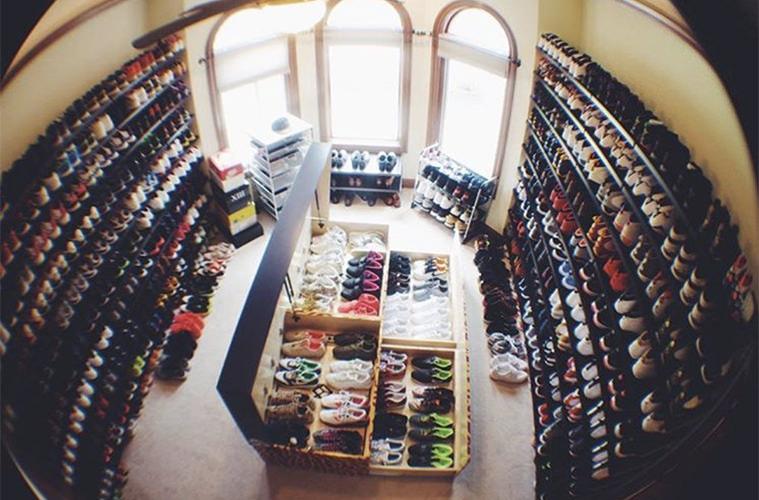 JR Smith Sneaker Collection