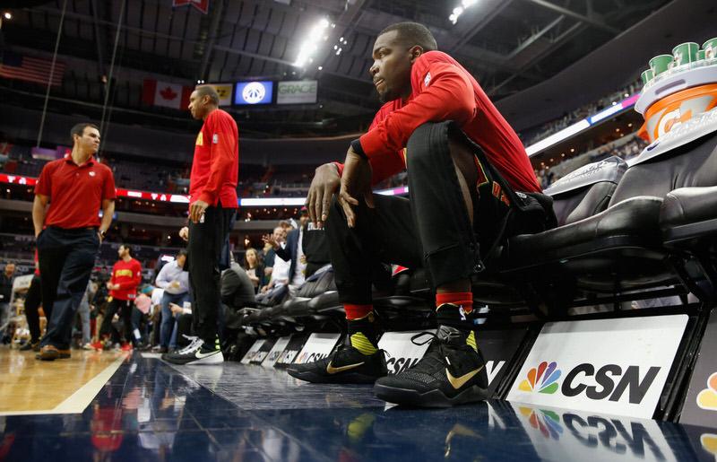 "Paul Millsap in the Nike Kobe 11 ""Fade to Black"""