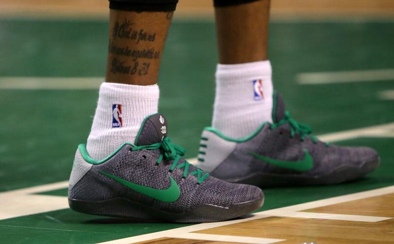 Isaiah Thomas' Nike Kobe 11 iD