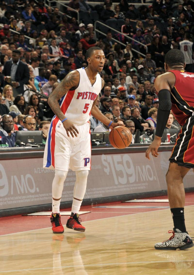 "Kentavious Caldwell-Pope in the Nike Kobe 11 ""Achilles Heel"""