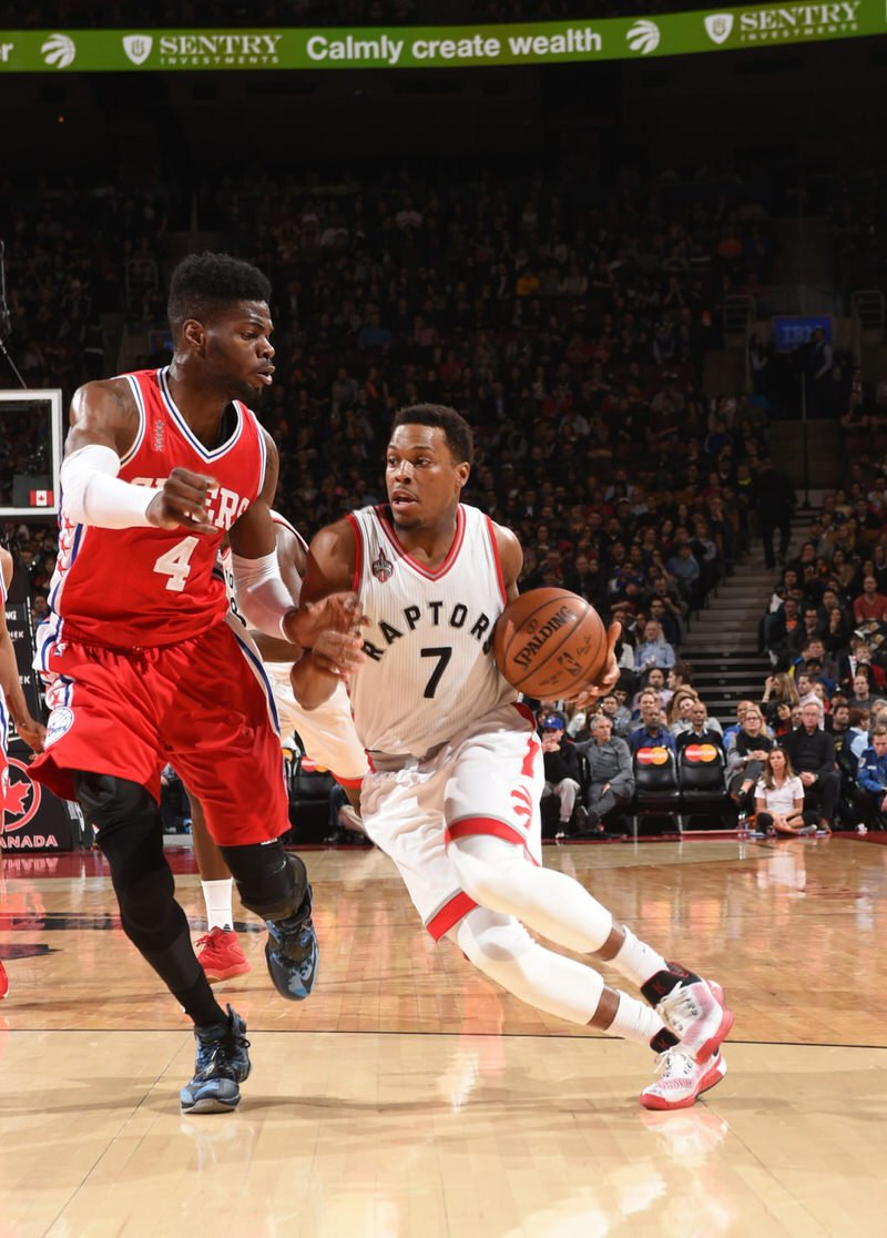 Kyle Lowry in the adidas Crazy Light Boost 2015