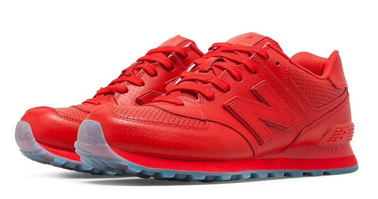 new balance ml 574 red rot