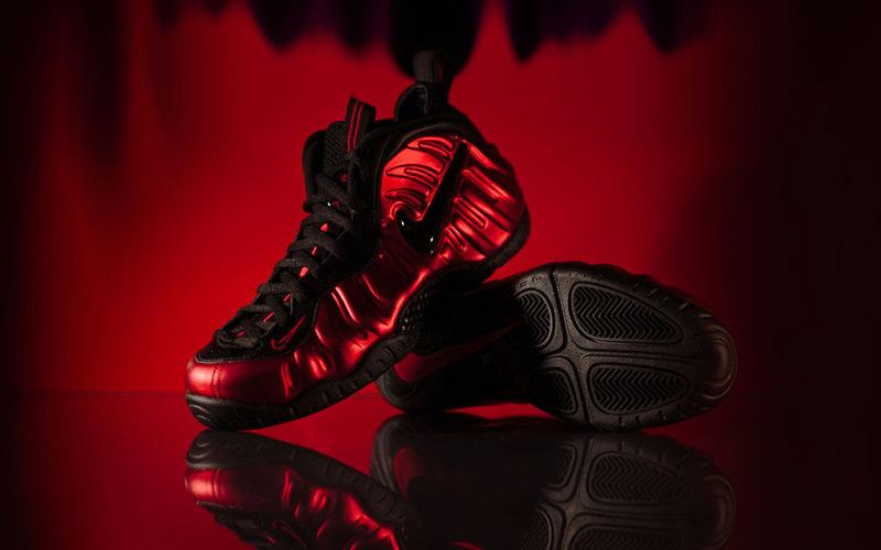 "Nike Air Foamposite Pro ""University Red"""