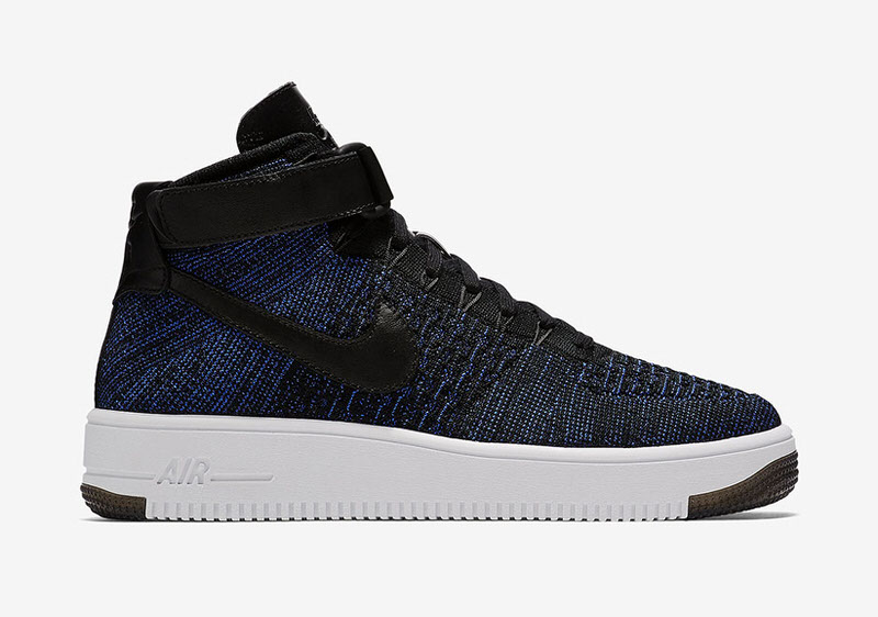 nike air force ones flyknit mids