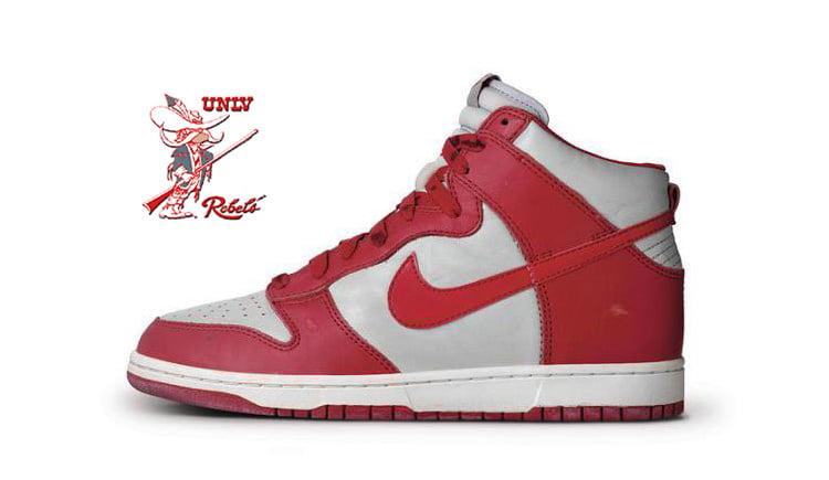 Nike Dunk High UNLV 2016