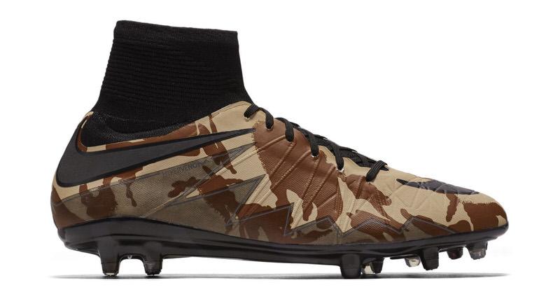 Camo Covers the Latest Nike Hypervenom Cleat | Nice Kicks