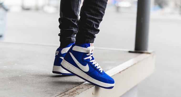 Nike Air Force 1 High Canvas Blue Concord