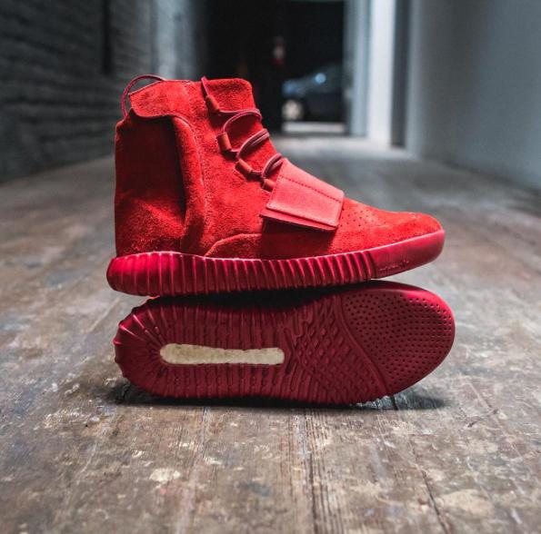 adidas Yeezy Boost 750 Red October Custom