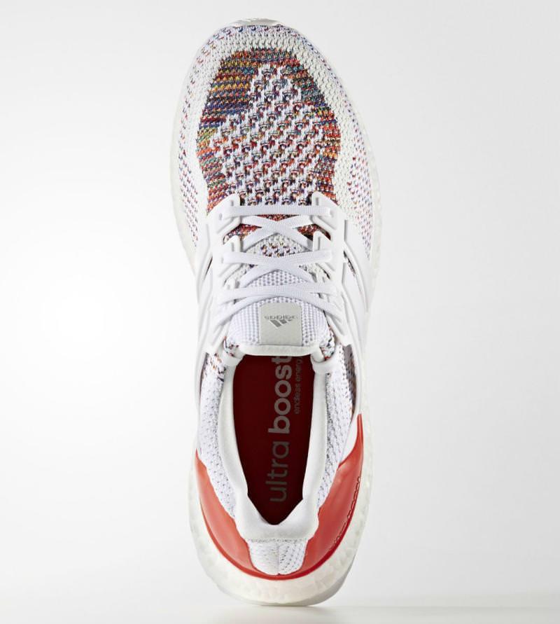 adidas ultra boost weiß bunt
