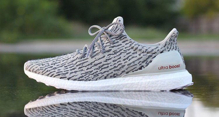 "adidas Ultra Boost ""Turtle Dove"" by Dank Customs"