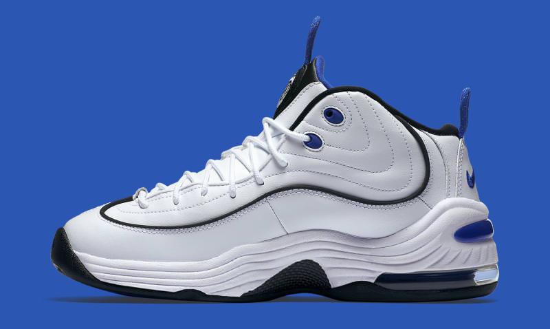 Nike Air Penny 2 White Varsity Blue