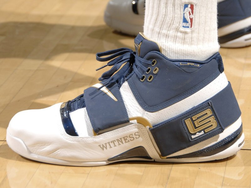 Every Shoe LeBron James Has Worn In The NBA Finals ...