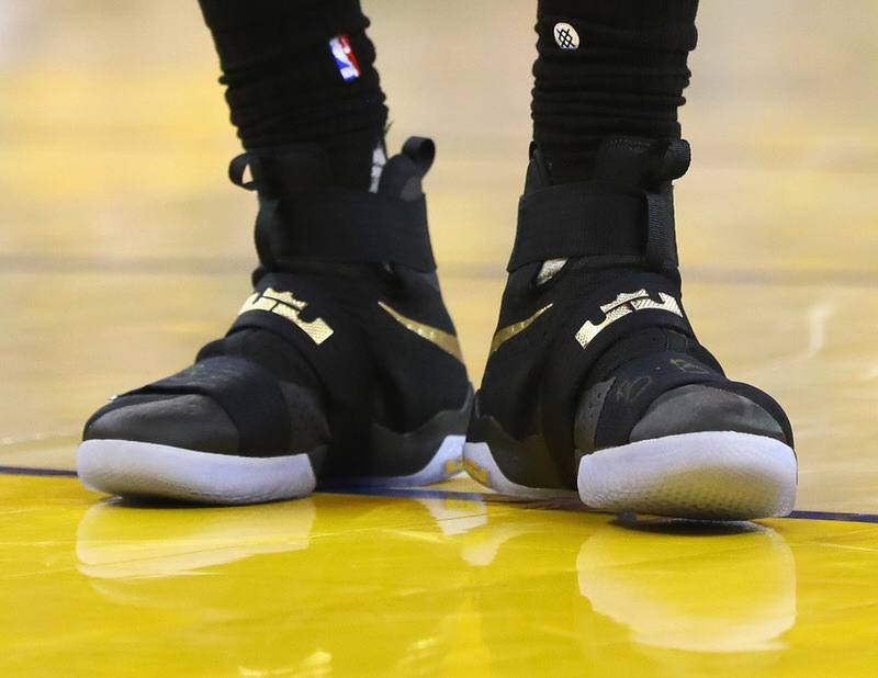 timeless design 4d14d fa629 The Best Kicks On Court From Game 7 Of The NBA Finals   Nice Kicks. lebron  shoes 10 shoes james