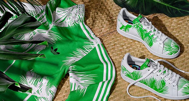 Billionaire Boys Club x adidas Stan Smith Palm Tree Collection
