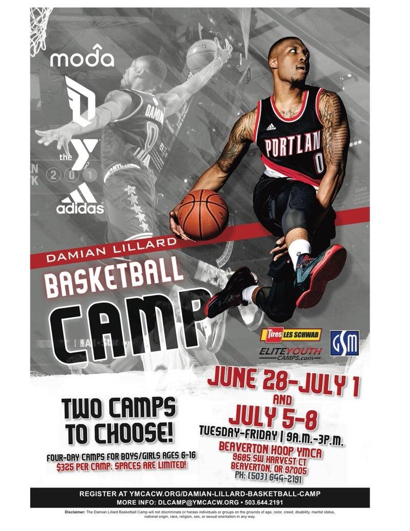 Damian Lillard Camp adidas DLillard Flier