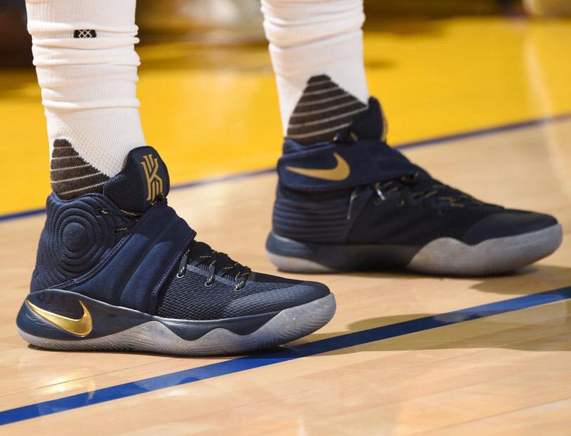Court Worn In The 2016 NBA Finals