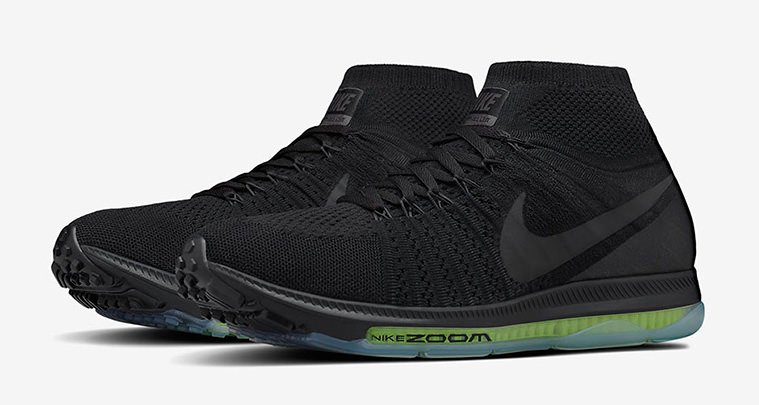 nike air zoom all out flyknit triple black coming. Black Bedroom Furniture Sets. Home Design Ideas