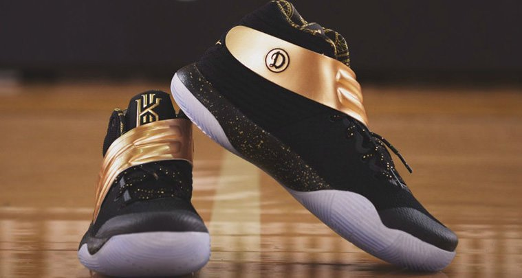 This Nike Kyrie 2 iD Was Gifted to the Drew League Champions | Nice Kicks
