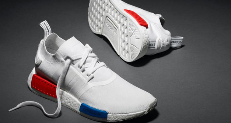 White NMD adidas UK