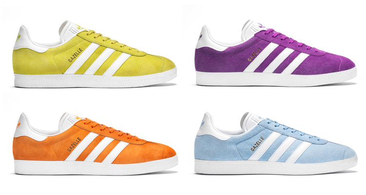 Kid's Red Adidas Gazelle Youth Trainers schuh